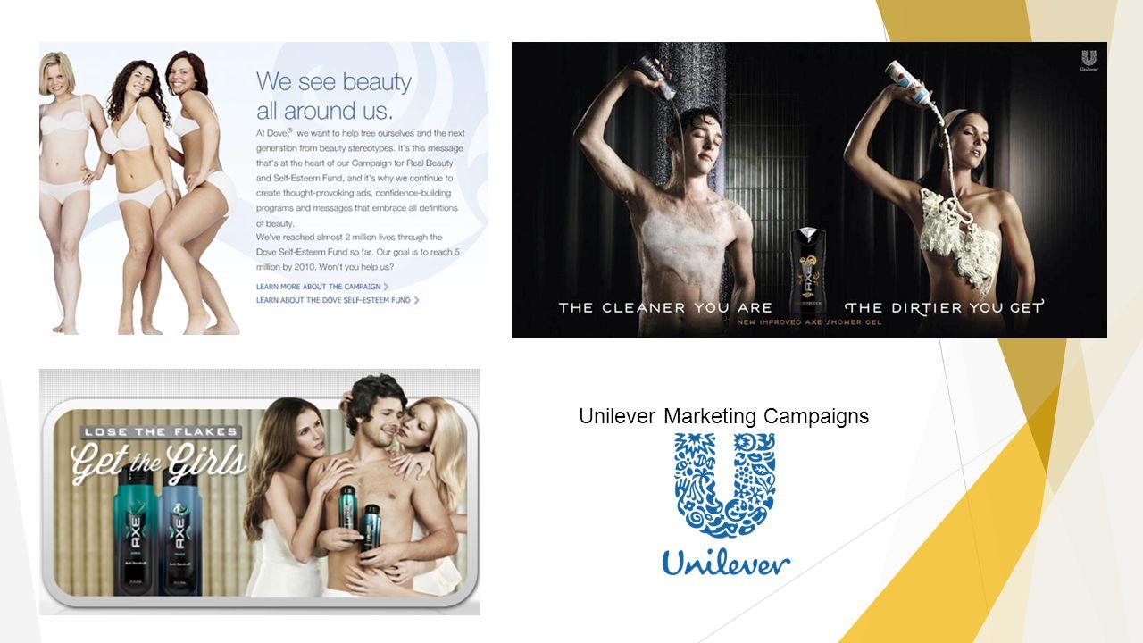 Unilever Marketing Campaigns