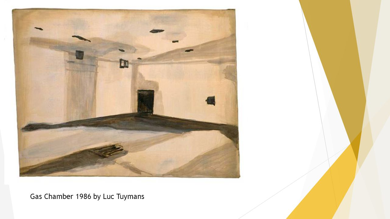 Gas Chamber 1986 by Luc Tuymans