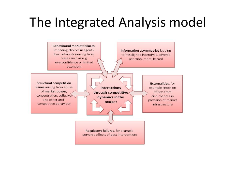 The Integrated Analysis model