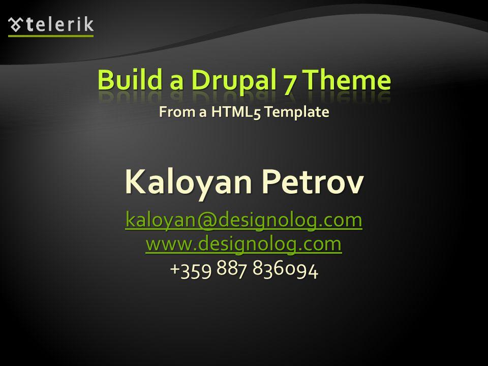 From a HTML5 Template Kaloyan Petrov kaloyan@designolog.com www.designolog.com +359 887 836094