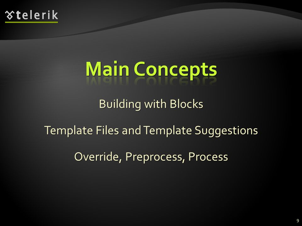 Building with Blocks Template Files and Template Suggestions Override, Preprocess, Process 9