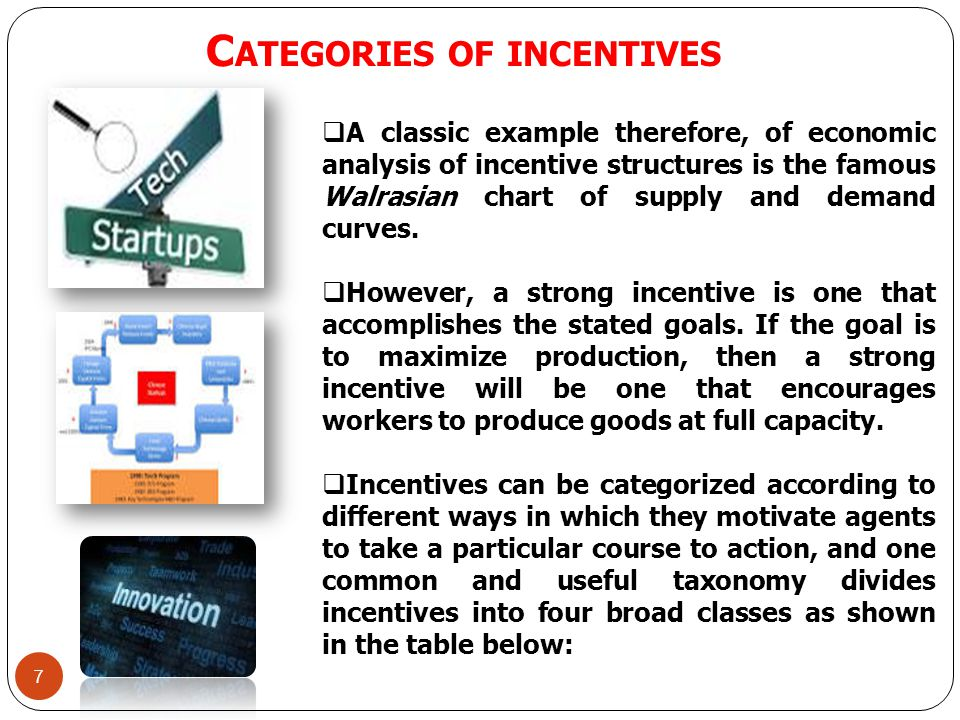 8 WHAT ARE THE PROBLEMS ASSOCIATED WITH CREATING INCENTIVES FOR TECH STARTUPS.