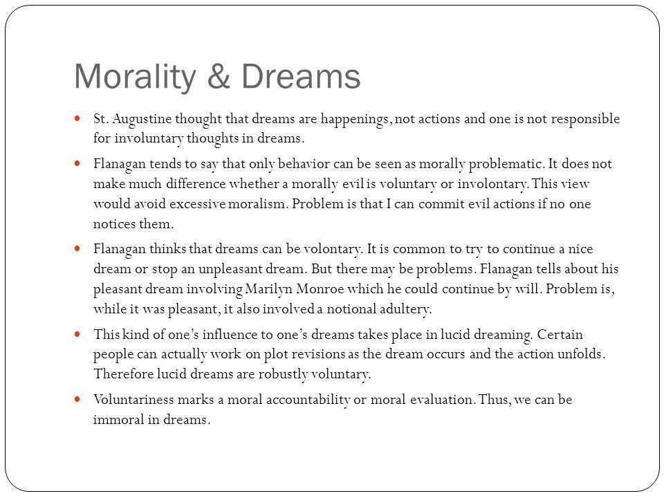 Morality & Dreams St.