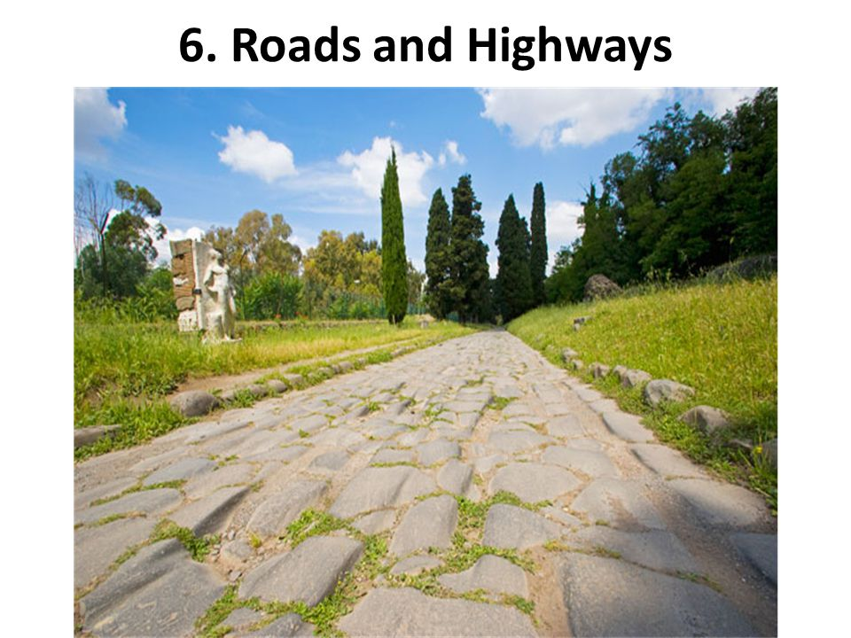 6. Roads and Highways