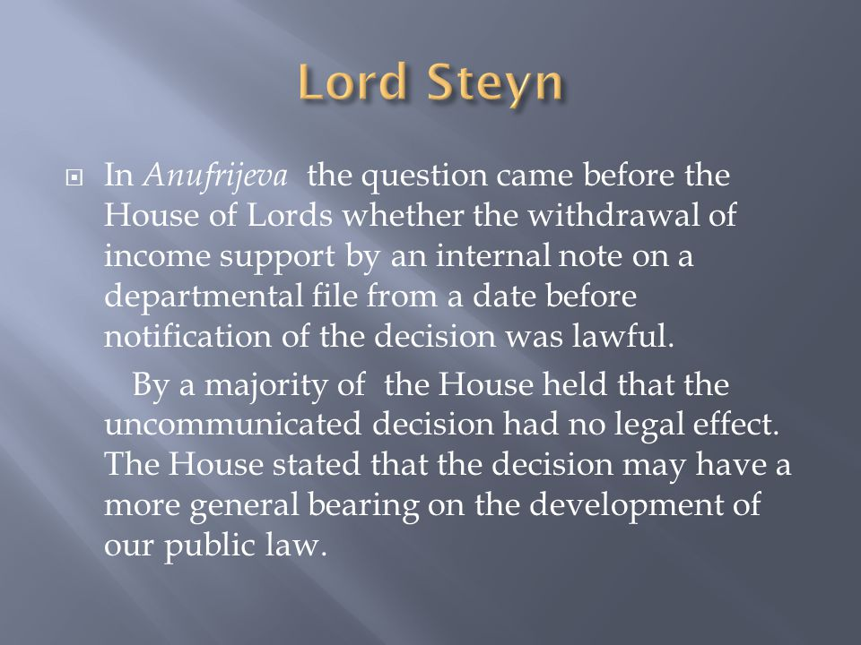 The House observed:  The arguments for the Home Secretary ignore fundamental principles of our law.