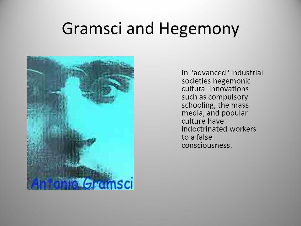 Gramsci and Hegemony In