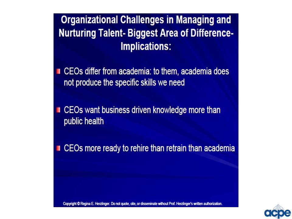 ACPE Strategic Goals: 1.