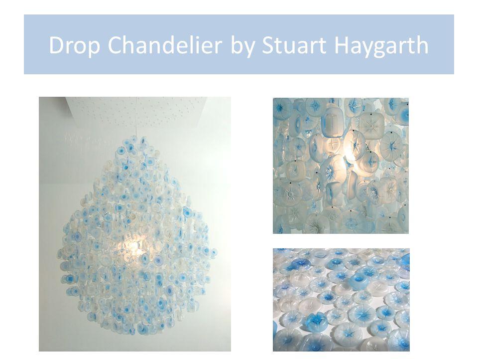 Drop Chandelier by Stuart Haygarth