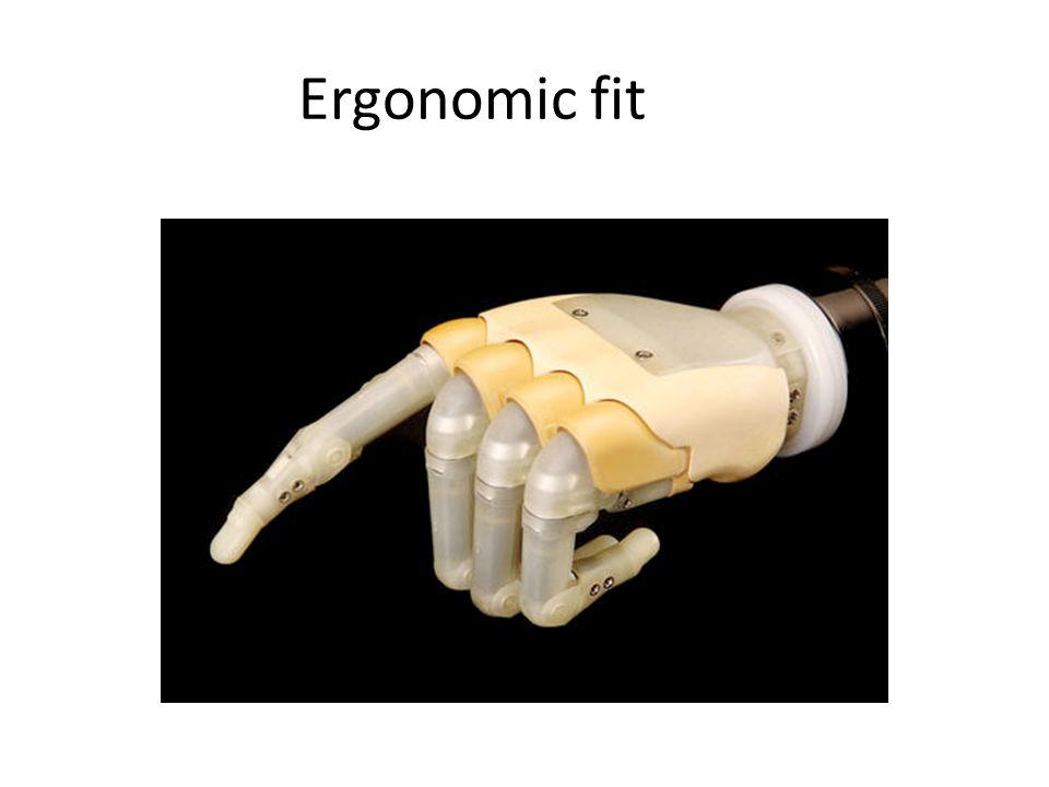 Ergonomic fit