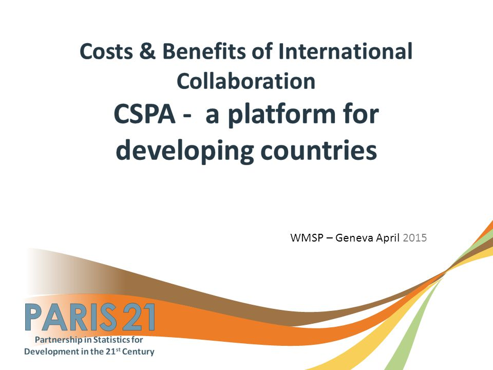 WMSP – Geneva April 2015