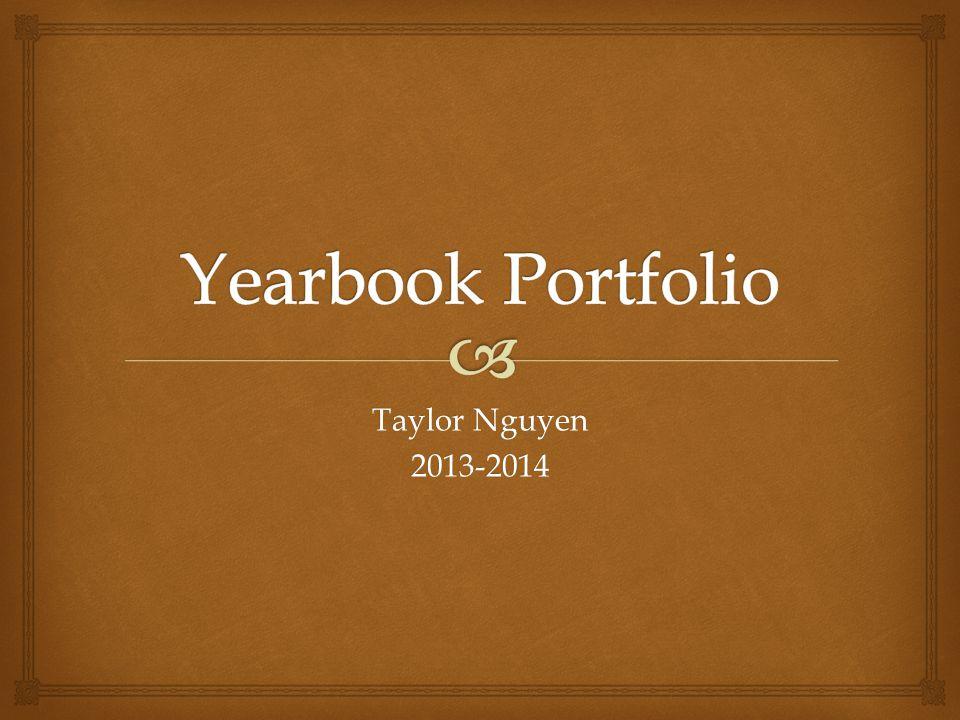 Taylor Nguyen 2013-2014