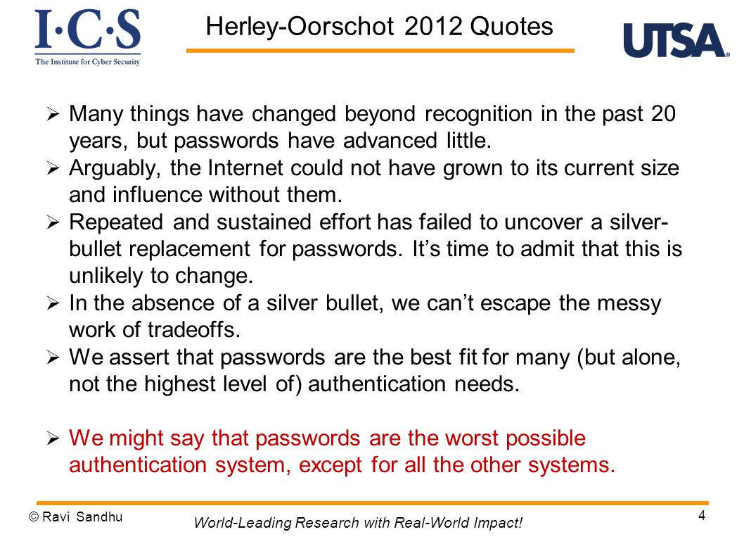  Many things have changed beyond recognition in the past 20 years, but passwords have advanced little.