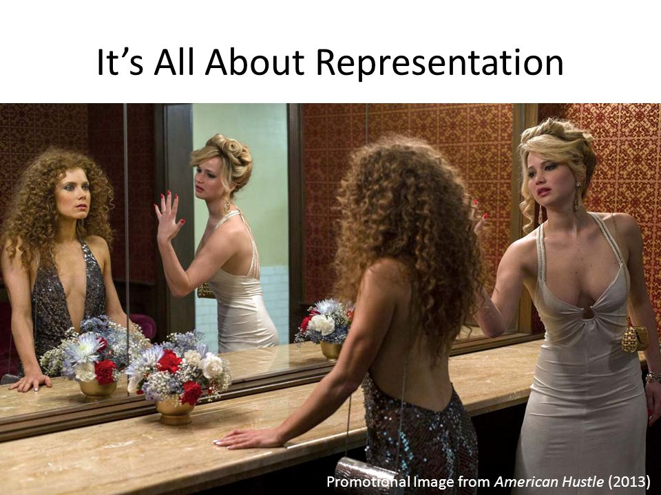 It's All About Representation Promotional Image from American Hustle (2013)