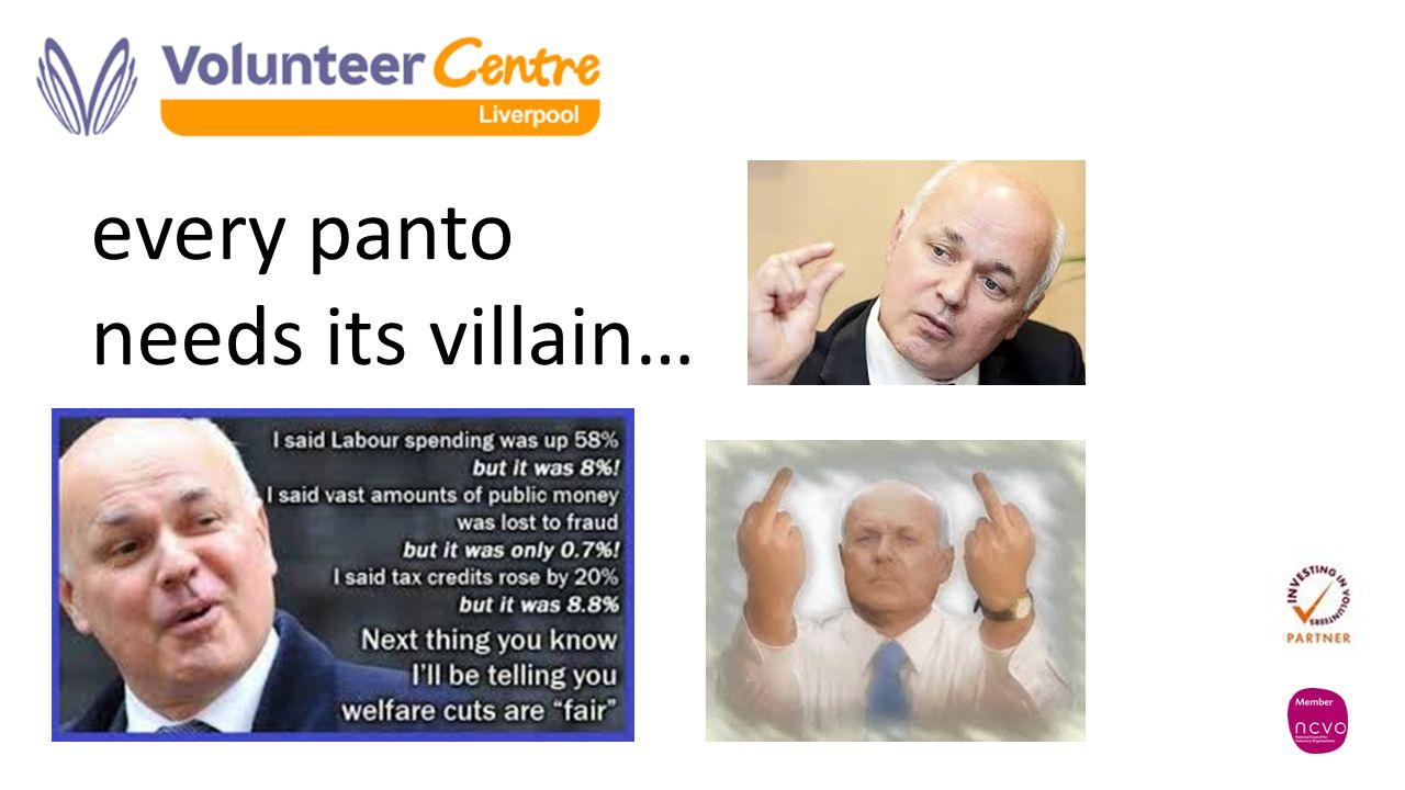every panto needs its villain…