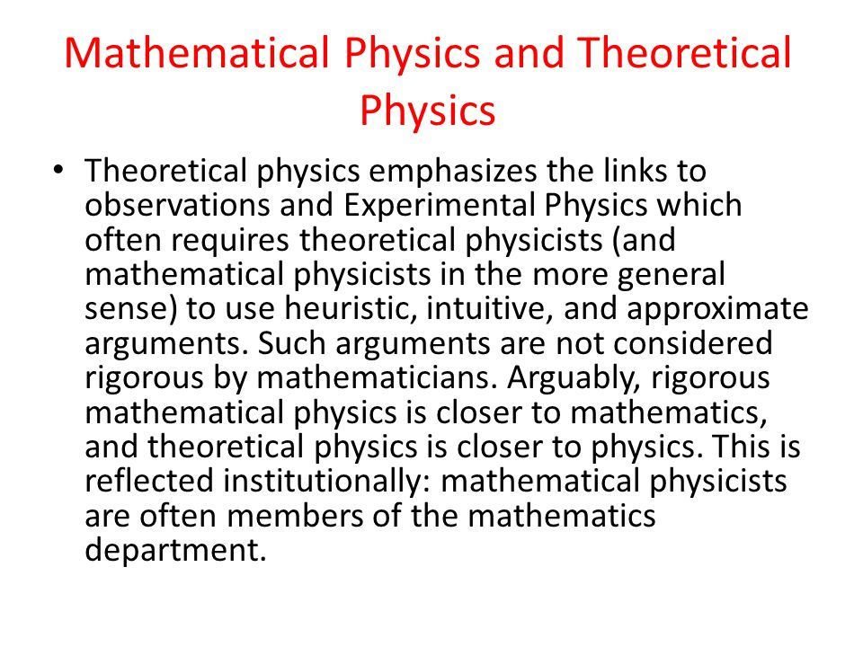 A Mathematical Physics Program Mathematics Courses Differential Geometry Differential Topology Geometric Analysis Topology Lie Theory Homological Algebra Complex Geometry Modular Forms Algebra Infinite Dimensional Lie Groups Integrable Models Global Riemannian Geometry Kaehler Geometry Algebraic Geometry
