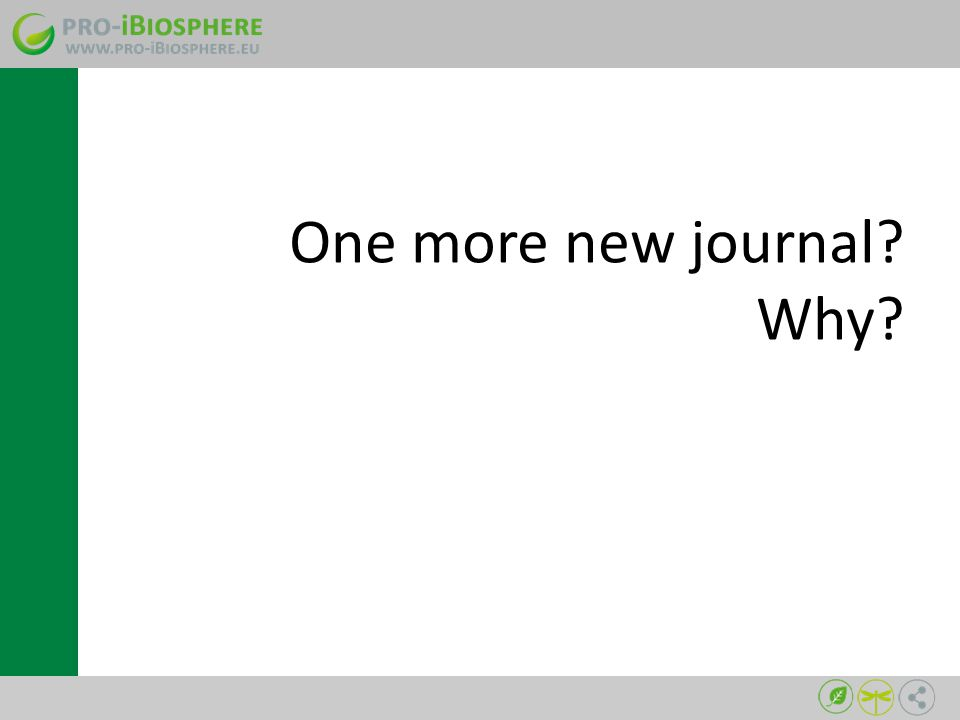One more new journal Why