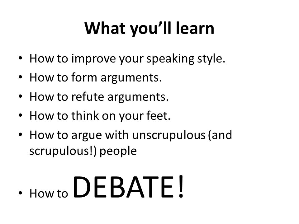 What you'll learn How to improve your speaking style.
