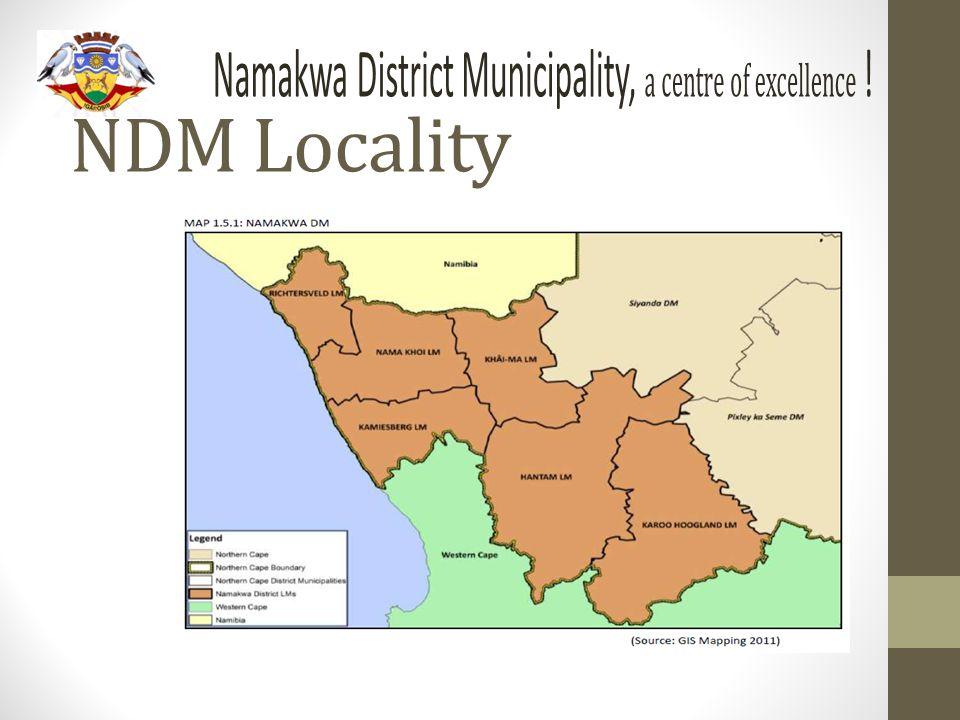 NDM Locality