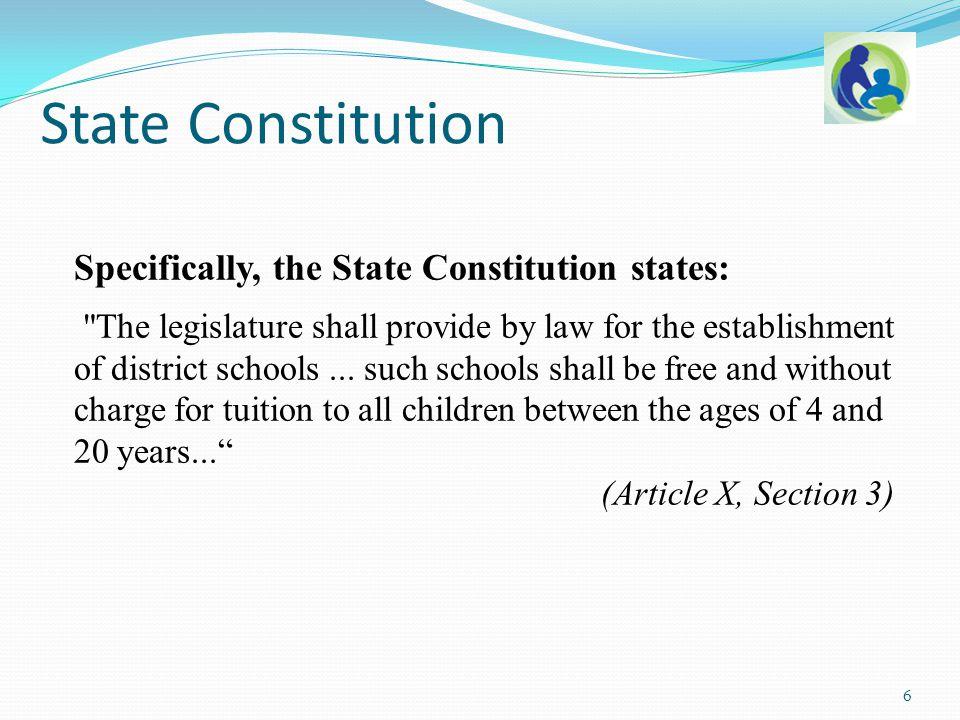 State v.Sinclair, 65 Wis. 2d 179 (1974): Art X, Sec.