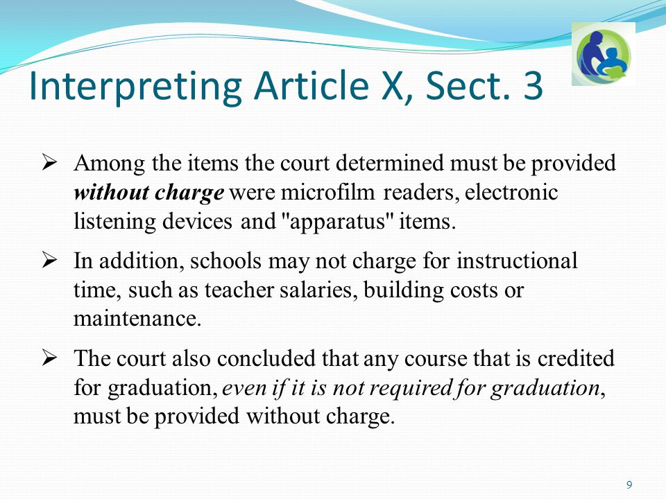 Statutory Language 50 The following statutes authorize fees: Sec.