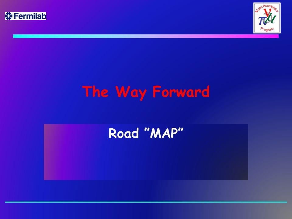 """The Way Forward Road """"MAP"""""""