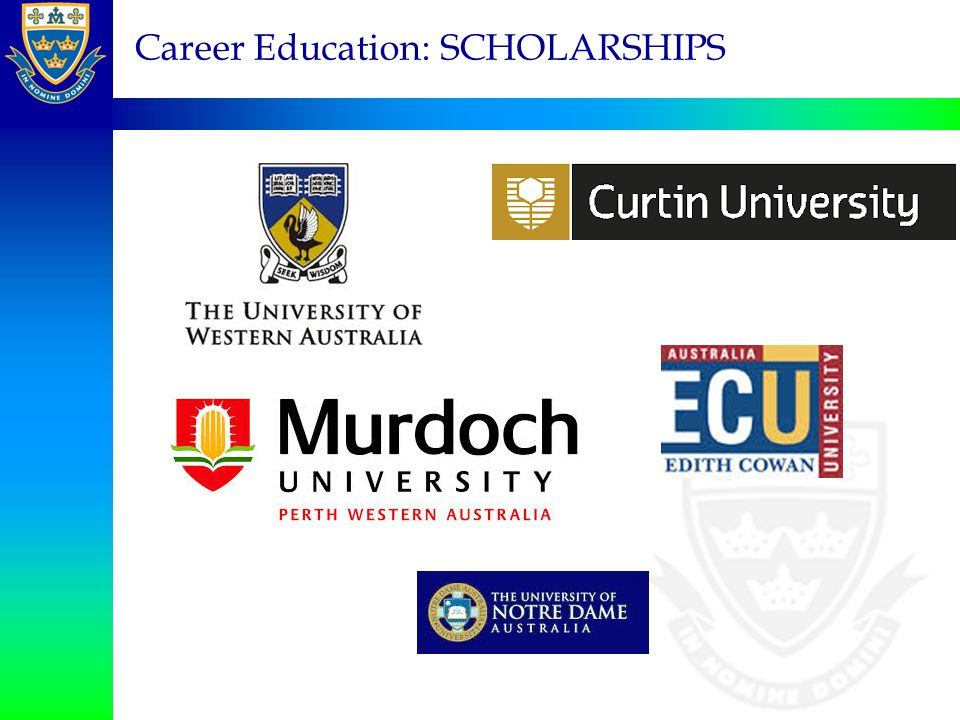 Career Education: SCHOLARSHIPS