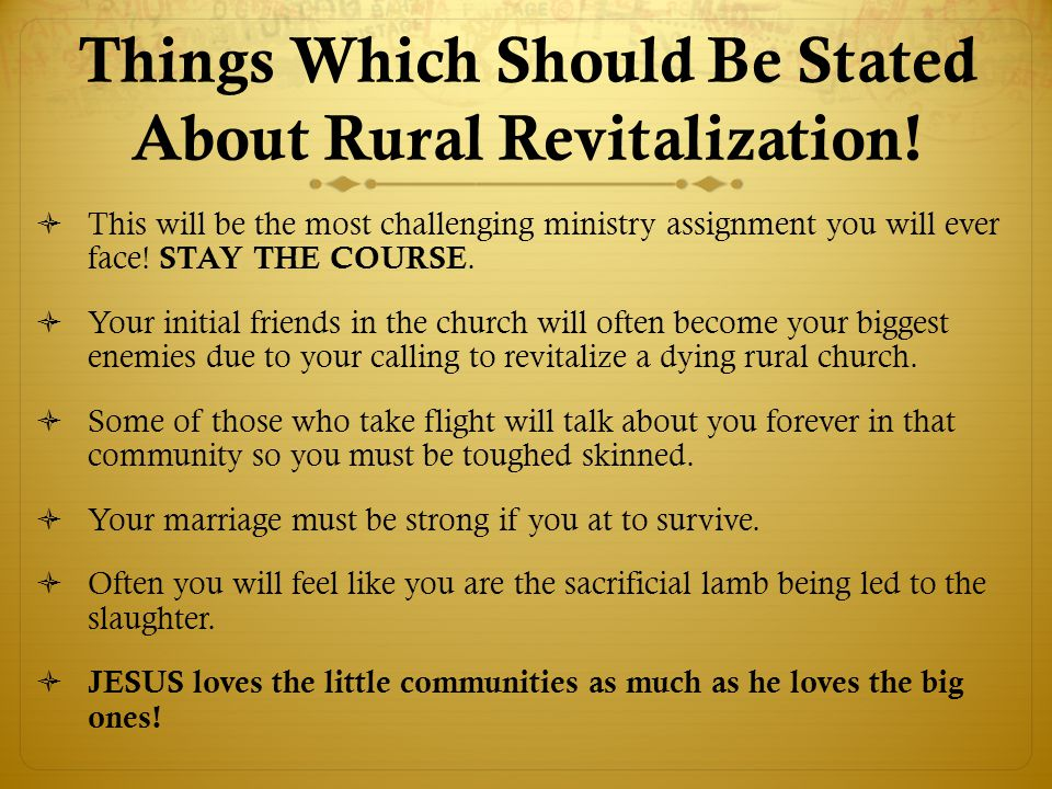 Things Which Should Be Stated About Rural Revitalization.