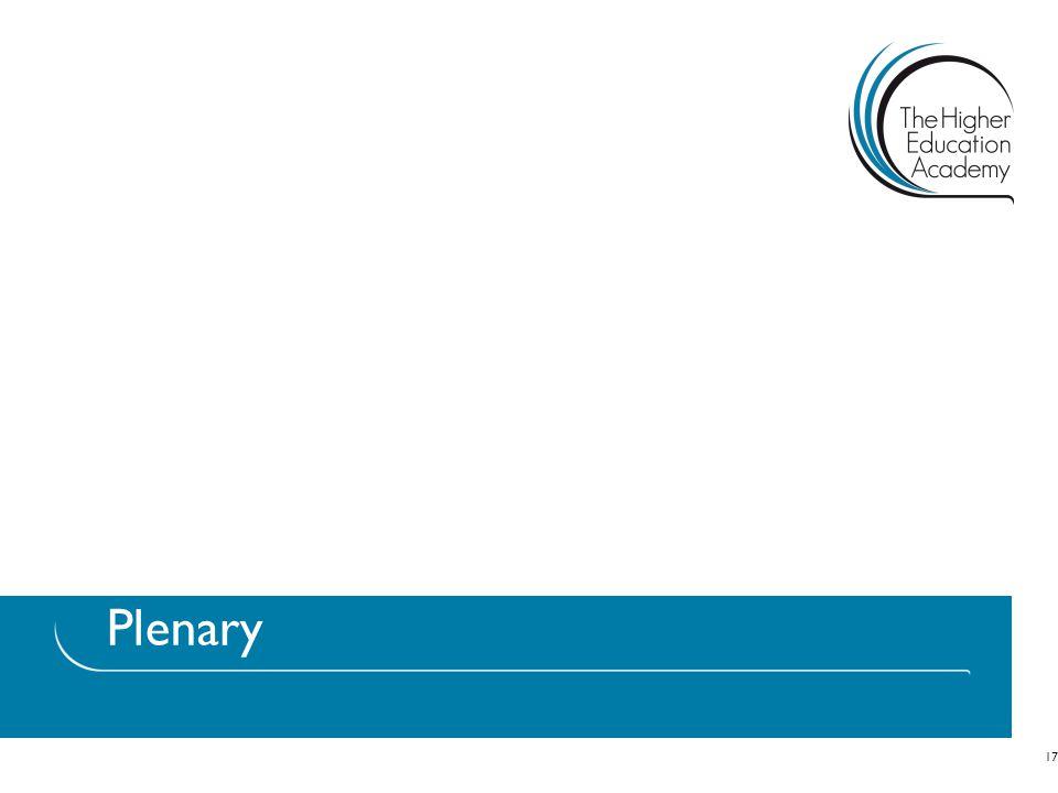 Plenary 17