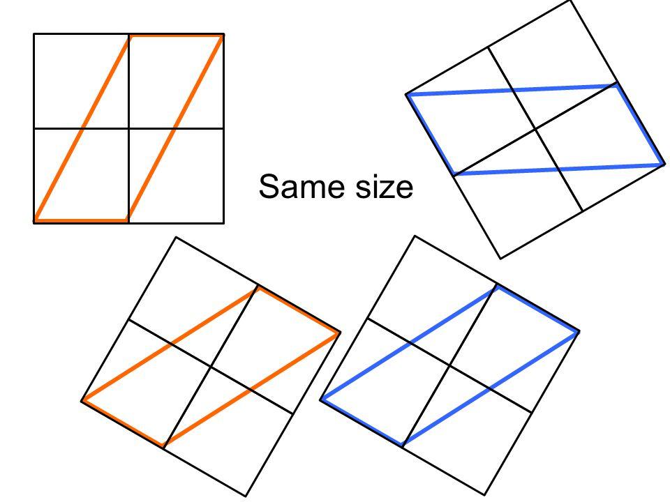 Same size