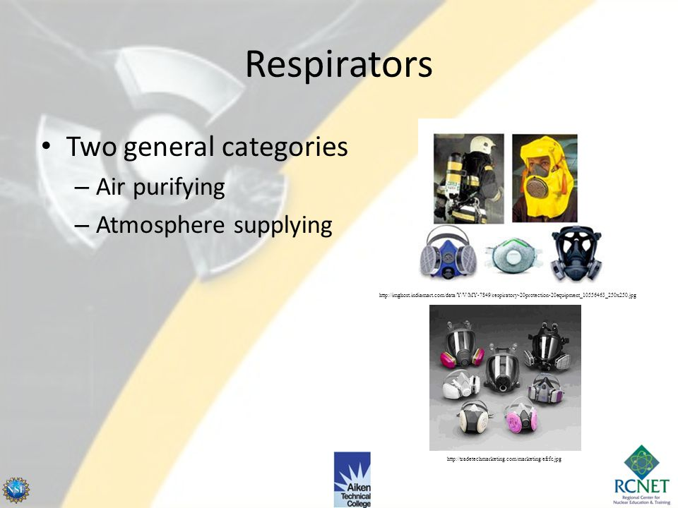 No objects such as facial hair – Beards, mustaches, sideburns, bangs, – Must not interfere with seal between respirator and skin 20.1703 Use of Respir