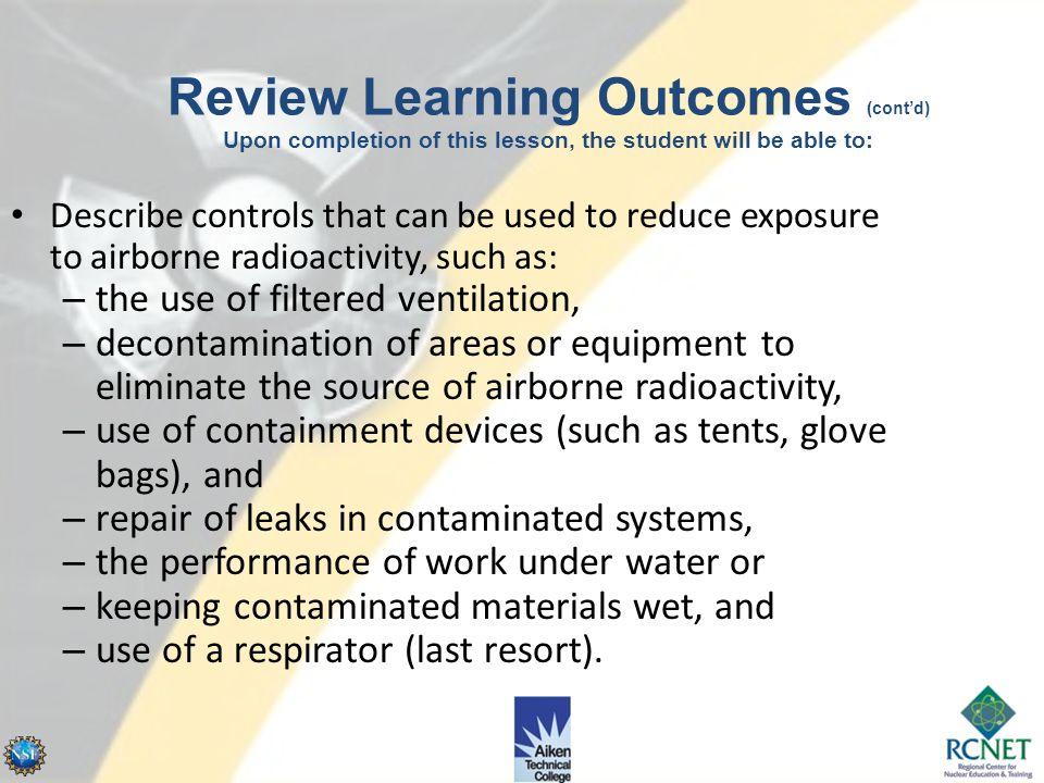 Airborne Radioactivity
