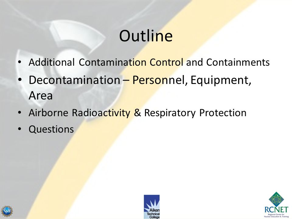 Identify the quality specification breathing air must meet. Describe good practices in setting up portable ventilation systems and count rate meters.