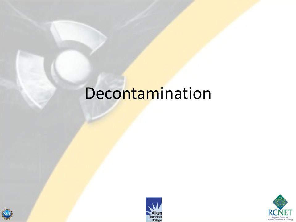 Contamination Control Control of Personnel Personnel Control – Apply principle of clean-to-clean and dirty-to-dirty when wearing and for removing PCs