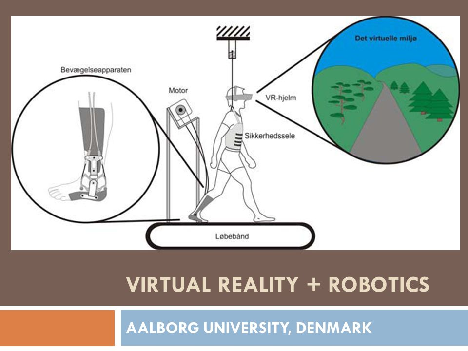 VIRTUAL REALITY + ROBOTICS AALBORG UNIVERSITY, DENMARK