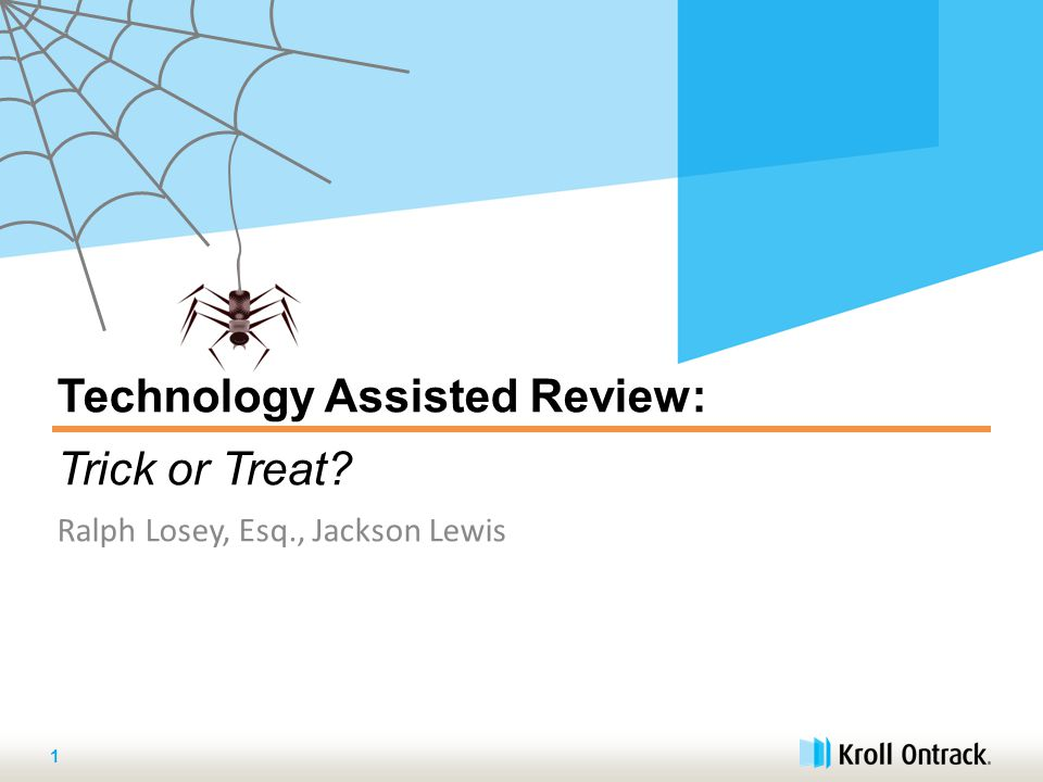 What Is Technology Assisted Review (TAR) ? 12