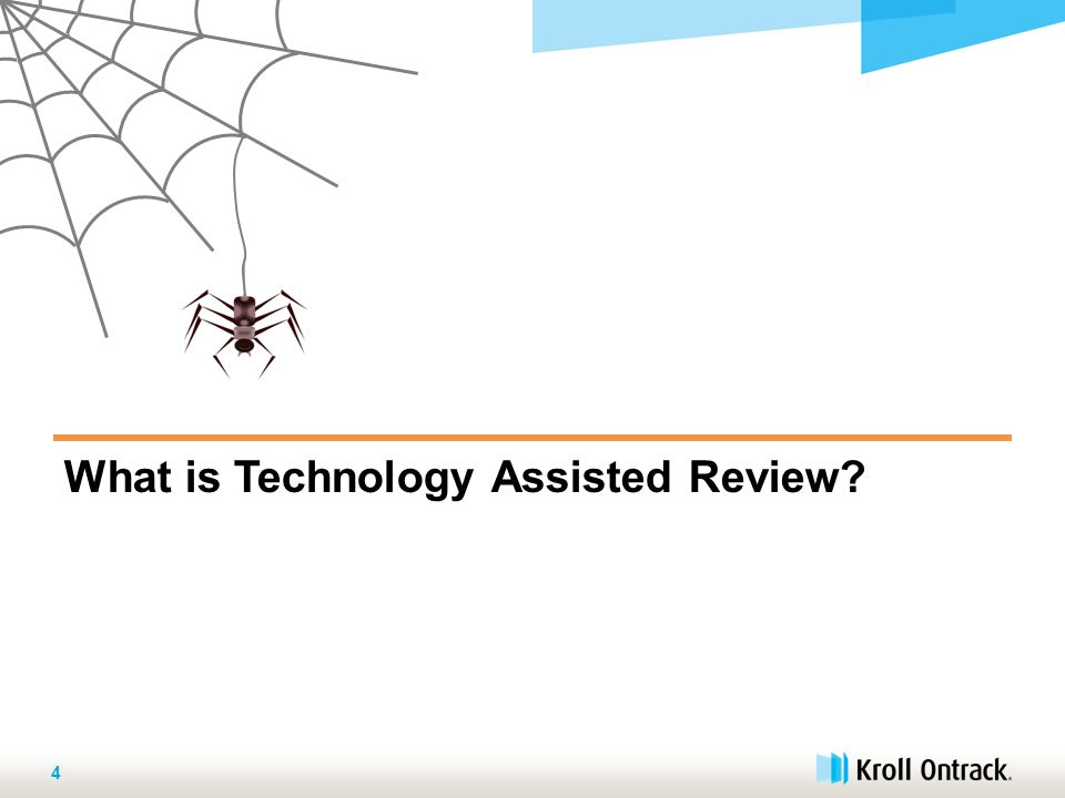 What is Technology Assisted Review 4