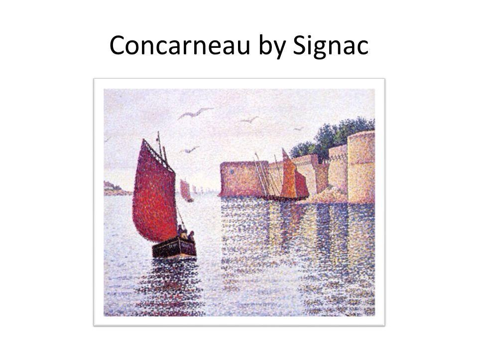 Concarneau by Signac