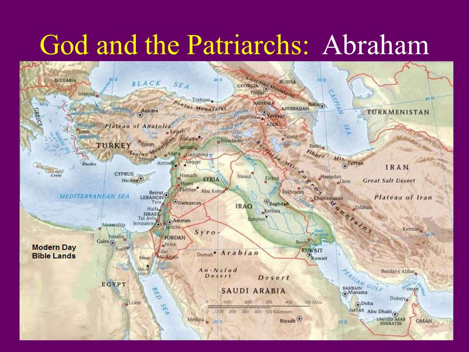 God and the Patriarchs: Abraham B.Abraham and Sarah lack the faith to wait.