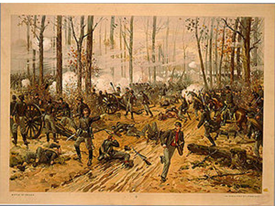 Battle of Shiloh April 6-7, 1862 Major battle in the Western Theater Maj.