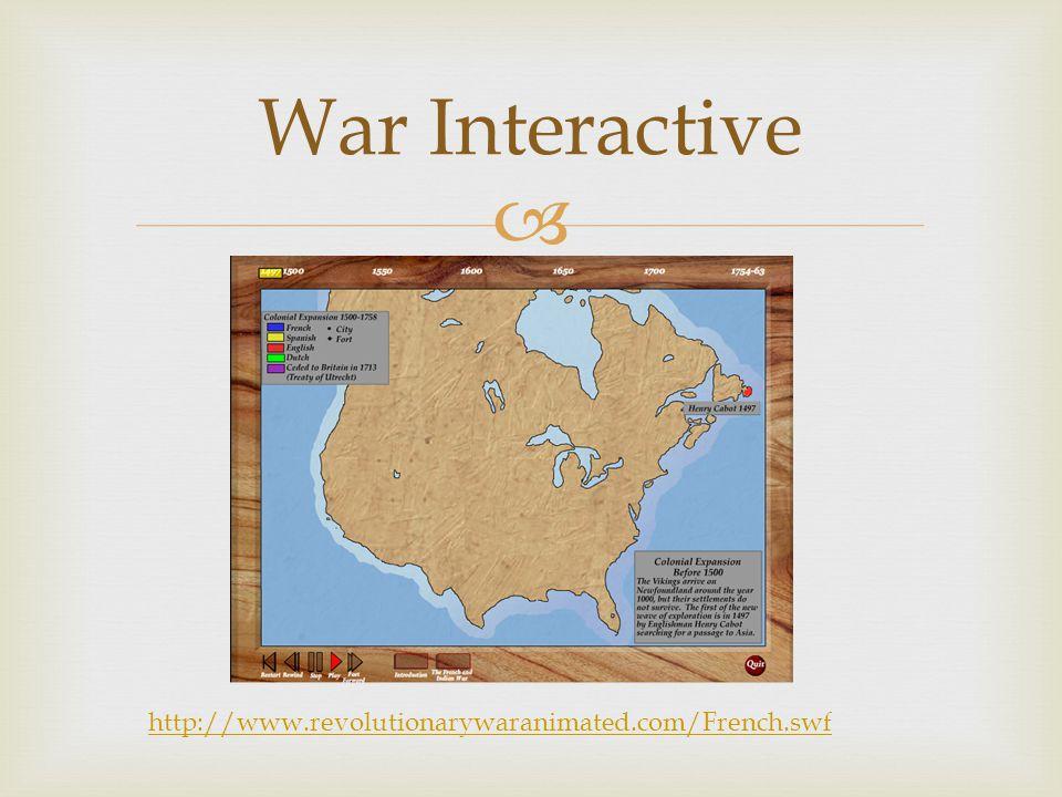  War Interactive http://www.revolutionarywaranimated.com/French.swf