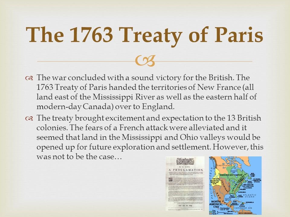   The war concluded with a sound victory for the British.