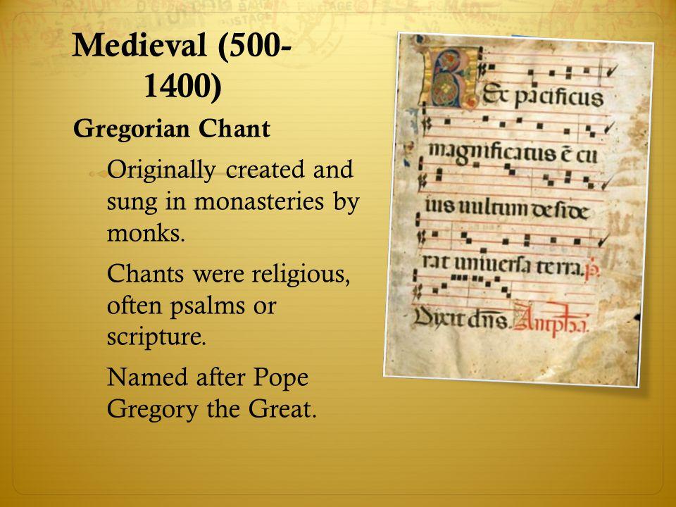 Renaissance (1400-1600)