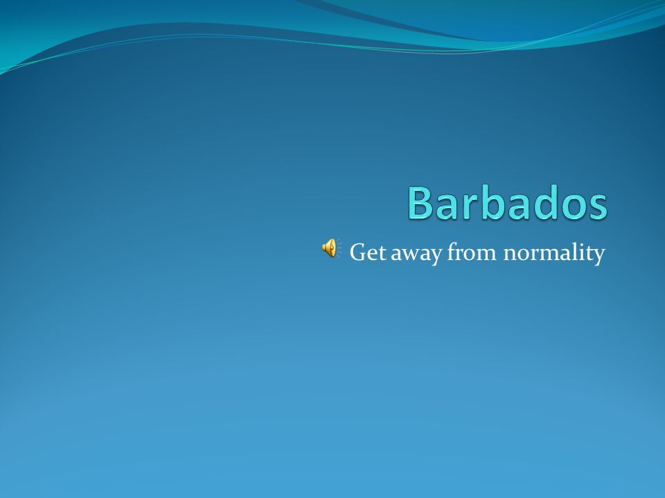 You can find everything in Barbados Music, sports, parties, it's all here!