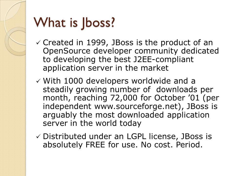 What is Jboss.