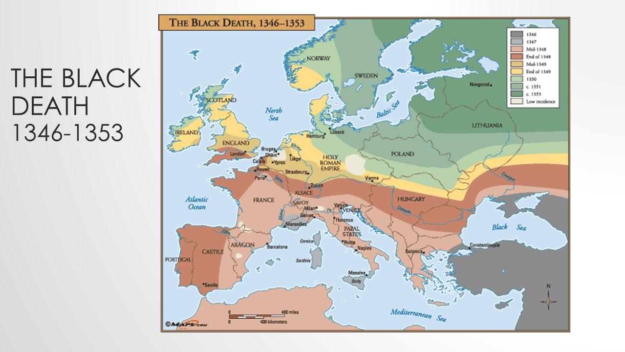 THE BLACK DEATH 1346-1353