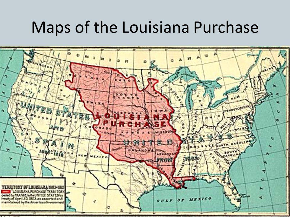 Louisiana Purchase April 30, 1803 – Robert Livingston & James Monroe signed the Louisiana Purchase Treaty in Paris – The United States paid $15 millio