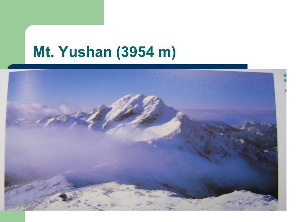 Mt. Yushan (3954 m)