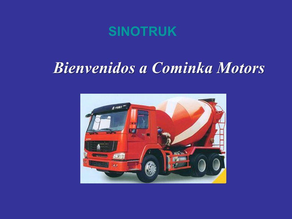 SINOTRUK Bienvenidos a Cominka Motors