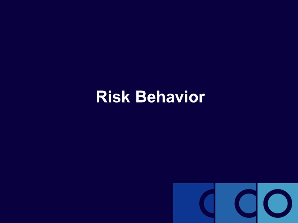 Risk Behavior
