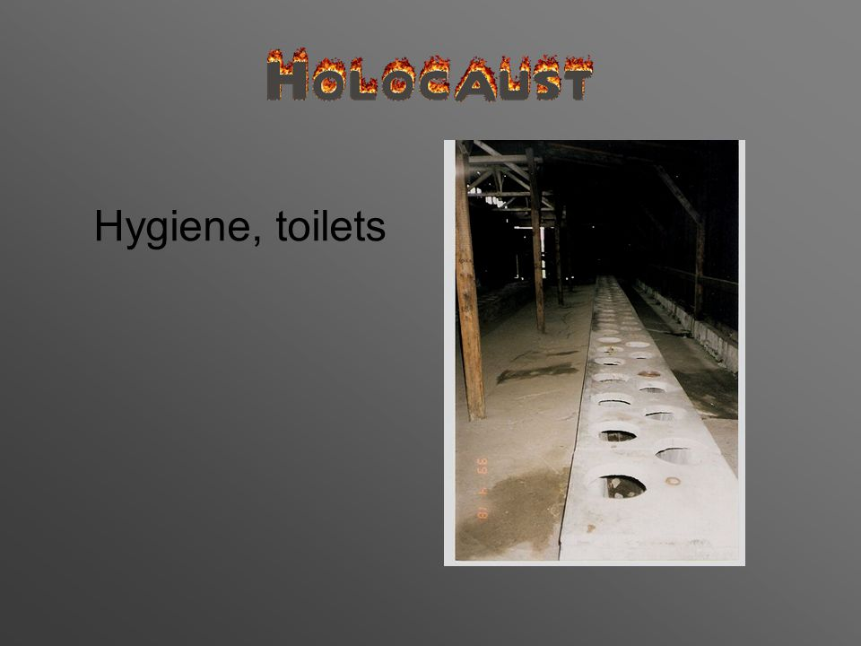 Hygiene, toilets
